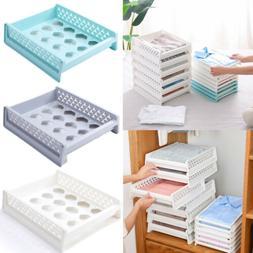 US Domestic Plastic Drawer Closet Storage Box Clothes Organi