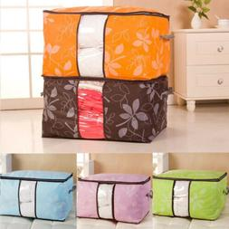 US Foldable Home Closet Storage Bag Organizer Box Anti-bacte
