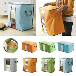 US New Foldable Clothes Blanket Quilt Closet Sweater Storage