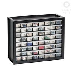 IRIS USA, Inc DPC-64 64 Drawer Parts And Hardware Cabinet, 1
