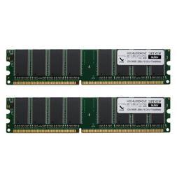 Wintec Value MHzCL3 2GB UDIMM Kit 2Rx8 2 Dual Channel Kit DD