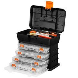 VonHaus Very Small Utility Tool Storage Box - Portable Arts
