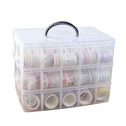 Washi Craft & Sewing Supplies Storage Tape Holder, Box Organ