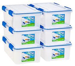 Ziploc 6-Piece Extra Small Weathertight Storage Box Set
