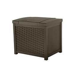 22 Gallon Wicker Deck Box
