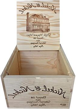 Vineyard Crates Wine Crate - Original Nickel & Nickel Decora