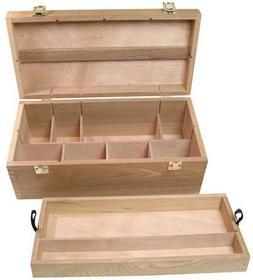 Wood Art Craft Machinist Cabinet Toolbox Chest Organizer Art