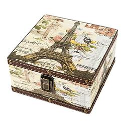 Wood Jewelry Keepsake Storage Box Memory Boxes Decorative Bo