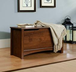 wood storage chest bench trunk wooden clothes