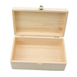 Wooden Box Storage With Lid Hinges Boxes Home Decor Wood Che