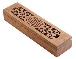 Black Temptation  Wooden Chopsticks Box Flatware Storage Box