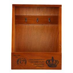 Wooden Key <font><b>Box</b></font> Garden Key Collect Hanger