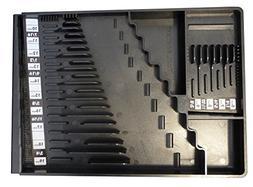 Tool Sorter Wrench Organizer - Black