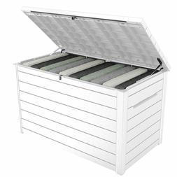 Keter XXL 230 Gallon Deck Storage Box Outdoor Patio Containe